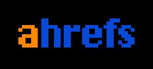 Digital marketing tool logo for AHrefs.