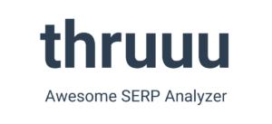 Thruuu logo for digital marketing tools list